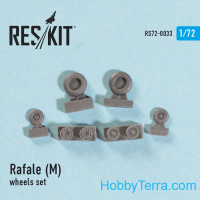 Wheels set 1/72 for Rafale (M)