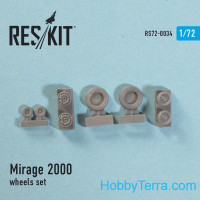 Wheels set 1/72 for Mirage 2000