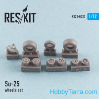 Wheels set 1/72 for Su-25, for ART Model/Zvezda kit