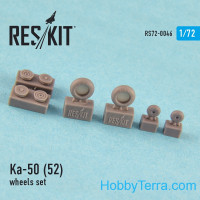 Wheels set 1/72 for Ka-50/52 (all versions)