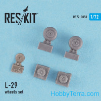 Wheels set 1/72 for L-29, for AMK/Bilek kit