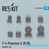 "Wheels set 1/72 for F-4B/N ""Phantom II"""
