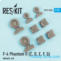 "Wheels set 1/72 for F-4C/D/E/F ""Phantom II"""