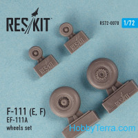 Wheels set 1/72 for F-111 (E, F) / EF-111A