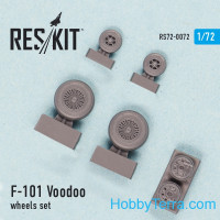 "Wheels set 1/72 for F-101B ""Voodoo"""