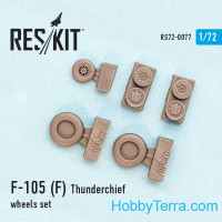 "Wheels set 1/72 for Republic F-105 (F) ""Thunderchief"""