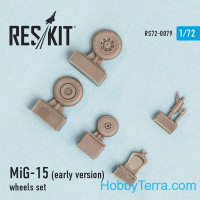 Wheels set 1/72 for MiG-15 (early version)