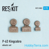 "Wheels set 1/72 for P-63 ""Kingcobra"""