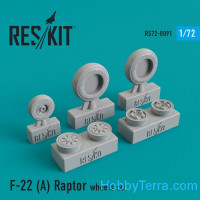 Wheels set 1/72 for F-22A