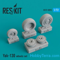 Wheels set 1/72 for Yak-130