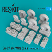 Wheels set for Su-24 (M/MR), Late Type