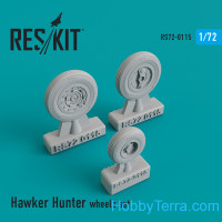 "Wheels set for ""Hawker Hunter"""