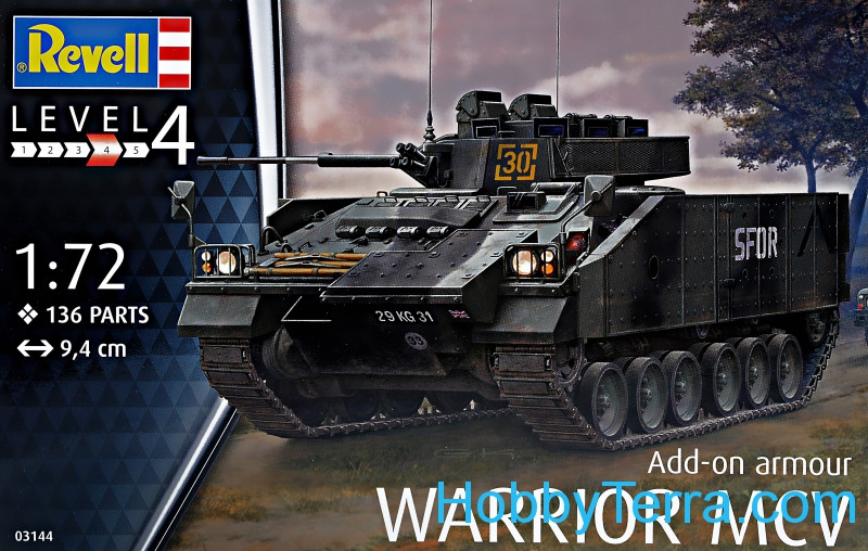 Revell  03144 Warrior MCV with Add-on Armour