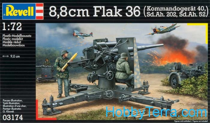88mm Flak 36 and Sd.Ah 202