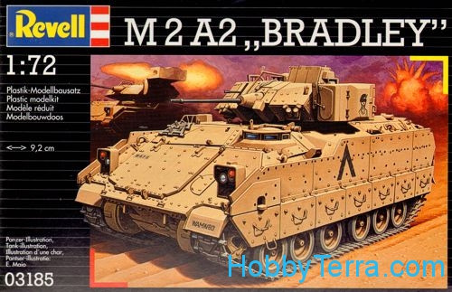 M2A2 Bradley fighting vehicles