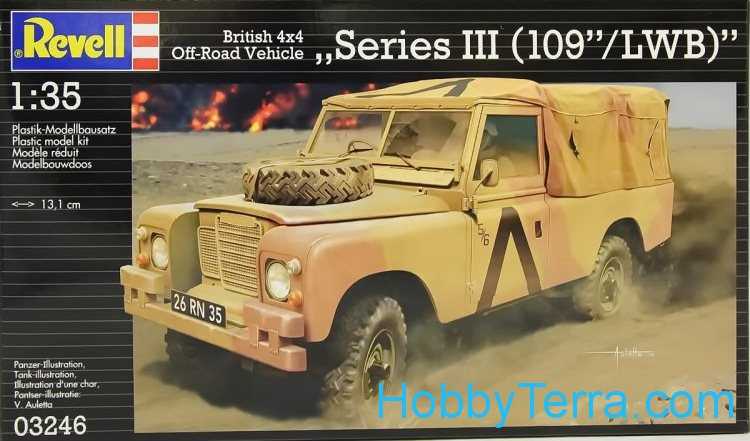 "Land Rover ""Series III (109""/LWB)"""