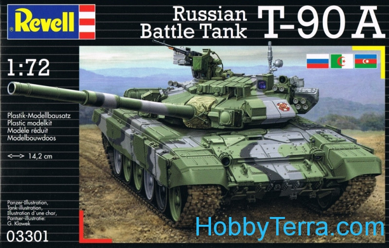 Revell  03301 Russian battle tank T-90A