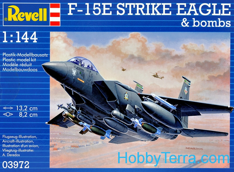 McDonnell F-15E Strike Eagle & Bombs