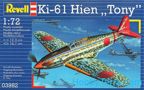 "Ki-61 Hien ""Tony"" fighter"