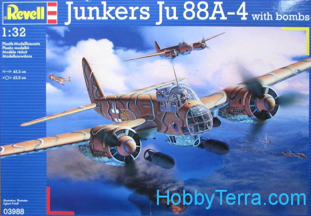Junkers Ju88 A-4 with bombs