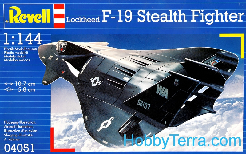 Lockheed F-19 Stealth fighter