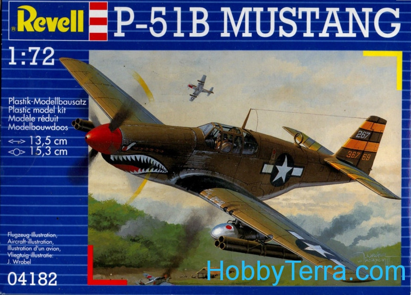P-51B Mustang fighter