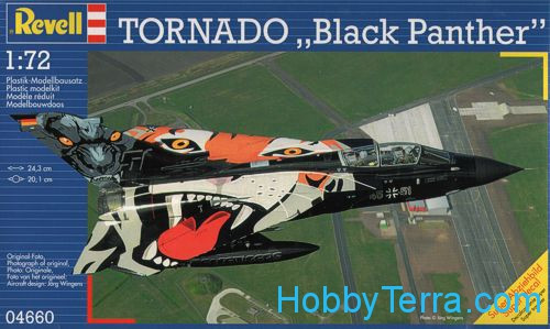 "Revell  04660 Tornado ""Black Panther"" fighter"