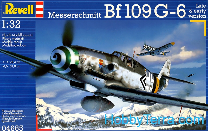 Messerschmitt Bf109 G-6 fighter