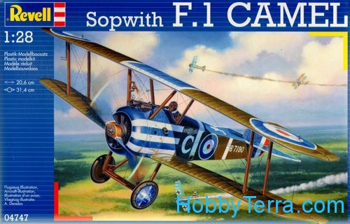 "Revell  04747 Sopwith F1 ""Camel"" fighter"