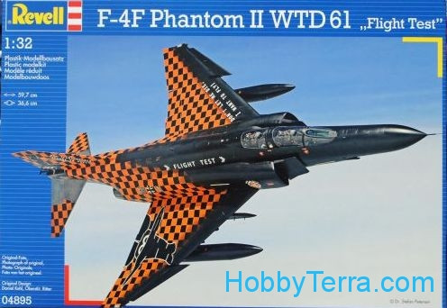 "Revell  04895 F-4F Phantom II WTD 61 ""Flight Test"""