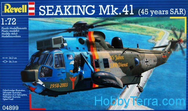 "SeaKing Mk.41 ""45 years SAR"" helicopter"