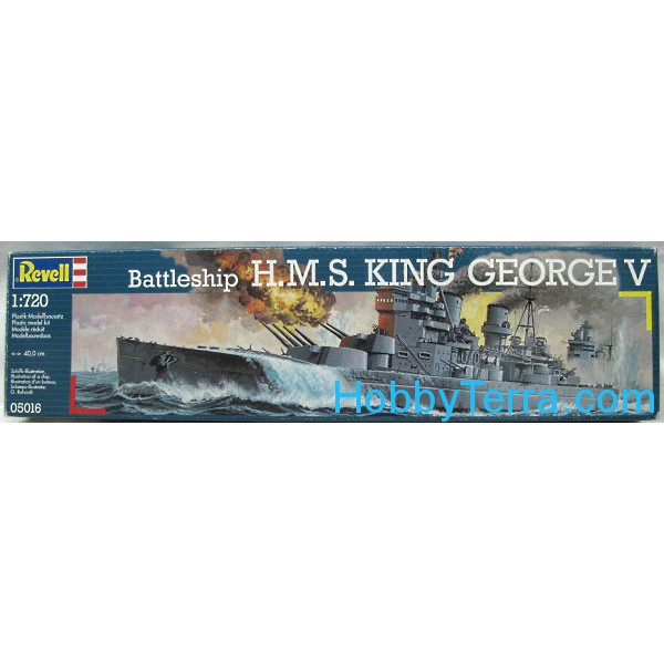 "H.M.S. ""King George V"" battleship"