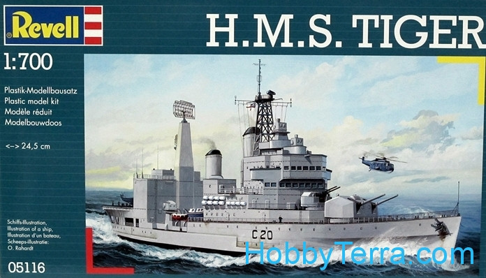 Revell  05116 H.M.S. Tiger