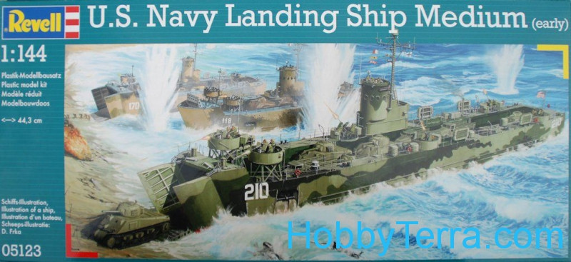 U.S. Navy Landing Ship Medium (LSM)