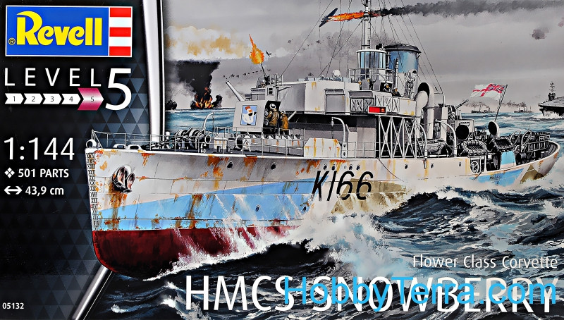 HMCS Snowberry, Flower Class Corvette. Level 5