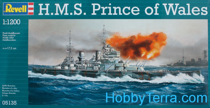H.M.S Prince of Wales battleship