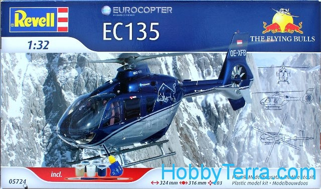 "Model Set. EC135 ""Flying Bulls"""