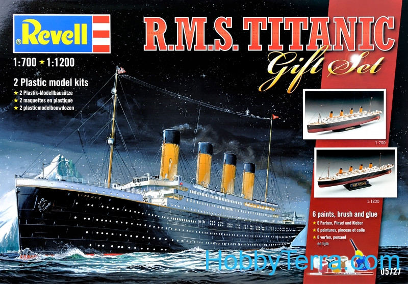 "Gift Set. RMS ""Titanic"" (2 kits in the box)"