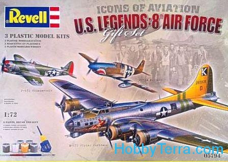 Gift Set. U.S. Legends: 8th Air Force