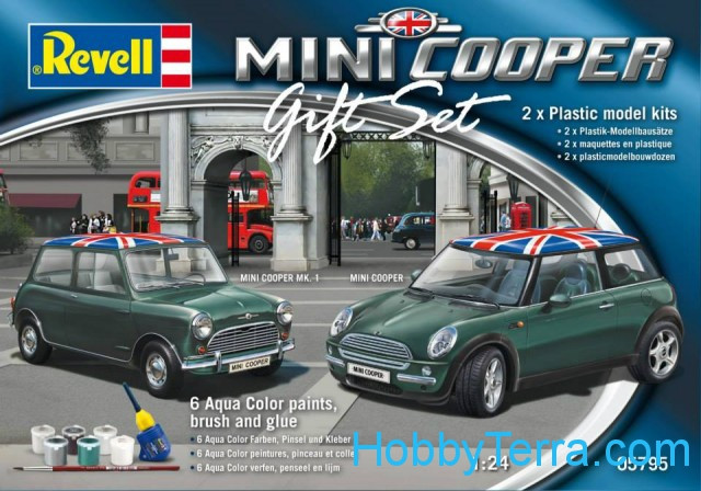 Gift set Mini Cooper (2 sets in the box)