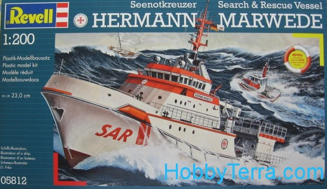 Revell  05812 DGzRS Hermann Marwede rescue vessel