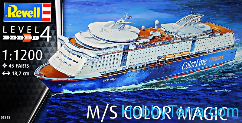 Revell  05818 Ship M/S Color Magic. Level 4