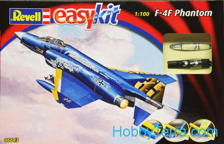 F-4F Phantom fighter, easy kit