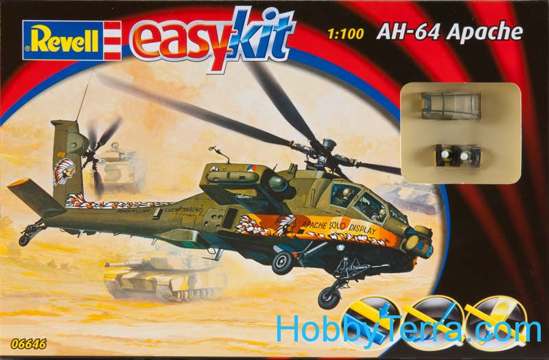 AH-64 Apache helicopter, easy kit