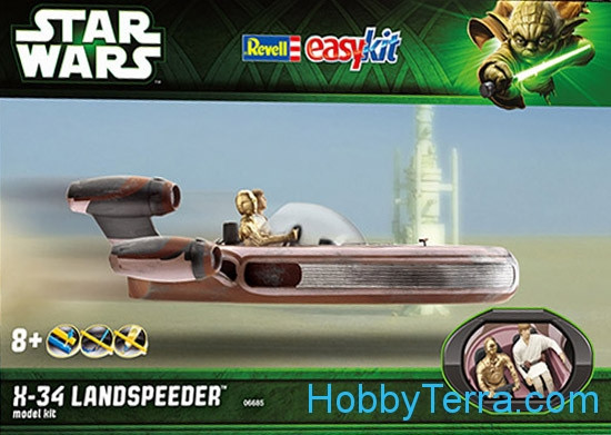 Star Wars. X-34 Landspeeder - easy kit