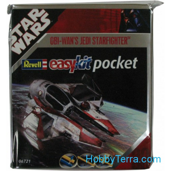 Star Wars. Starfighter Obi-Wan Kenobi - easy kit Poсket