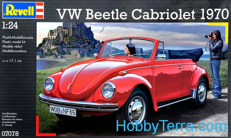 Vw Beetle Cabriolet 1970 Revell 07078 Hobbyterra Com