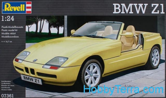 1 24 car bmw z1 revell 07361. Black Bedroom Furniture Sets. Home Design Ideas
