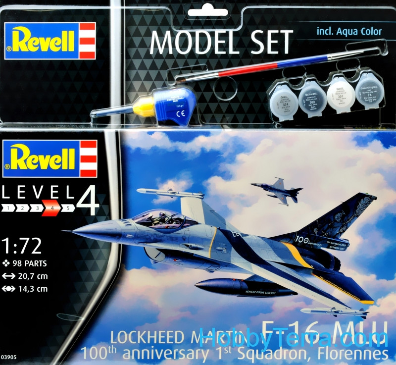 "Model Set. F-16 Mlu ""100th Anniversary"""