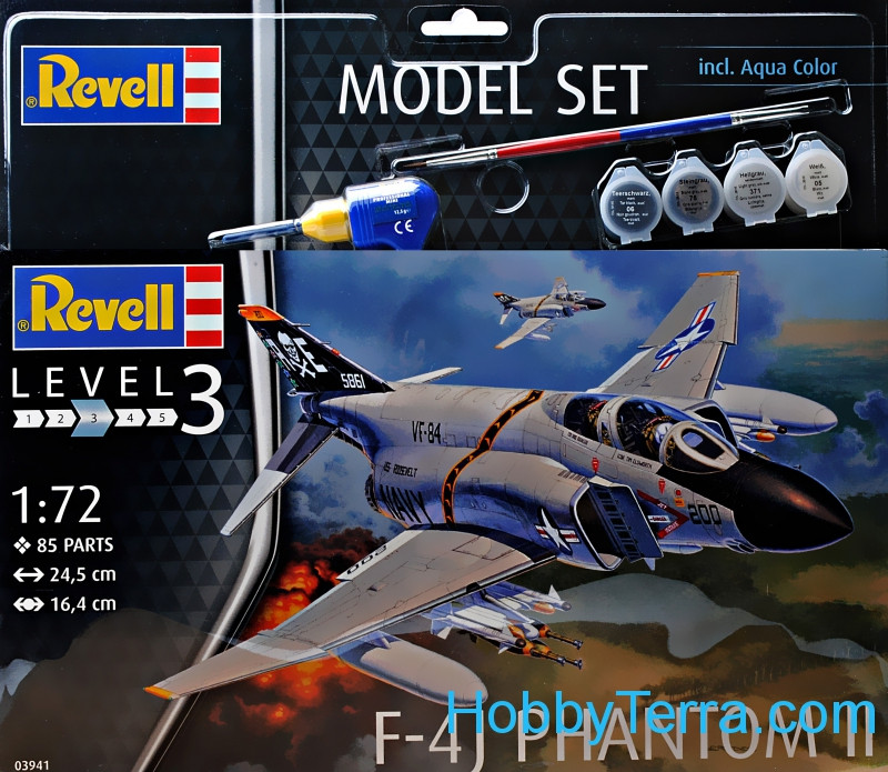 Model Set. F-4J Phantom II
